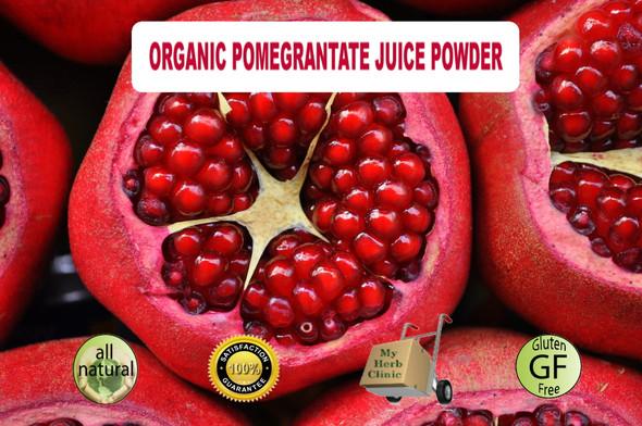 MY HERB CLINIC ® ORGANIC POMEGRANATE POWDER ~ NATUROPATHIC ~ BEST QUALITY