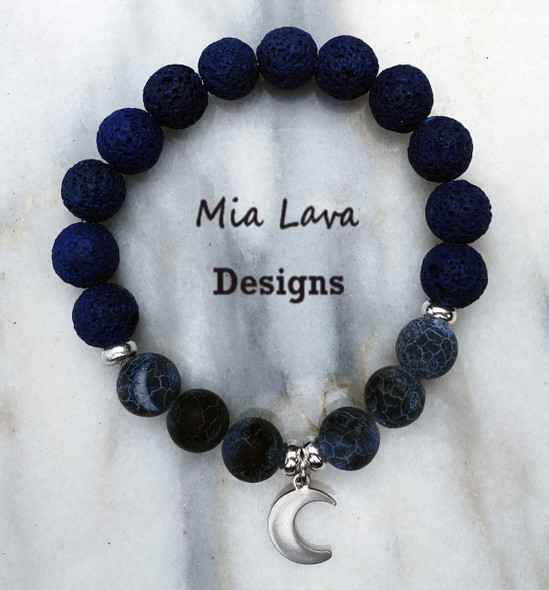 AROMATHERAPY DIFFUSER BRACELET MIDNIGHT DREAMS