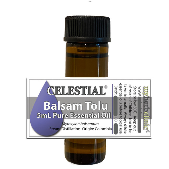 CELESTIAL ® BALSAM TOLU PURE ESSENTIAL OIL - Myroxylon balsamum