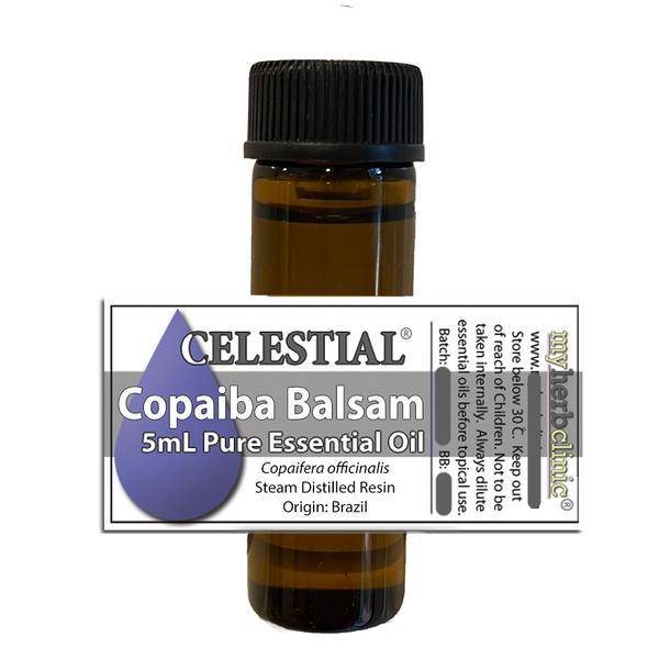 CELESTIAL® COPAIBA BALSAM THERAPEUTIC ESSENTIAL OIL AROMATHERAPY - Copaifera officinalis
