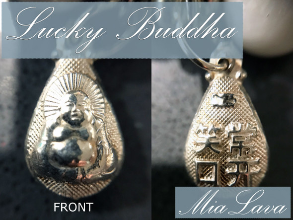 MiaLava | CRYSTAL AROMATHERAPY DIFFUSER BRACELET JADE LUCKY BUDDHA