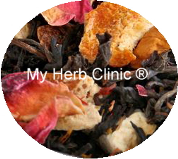 MY HERB CLINIC ® STOCKHOLM TEA BLEND - FLAVOURED BLACK TEA - PERFECT BALANCE