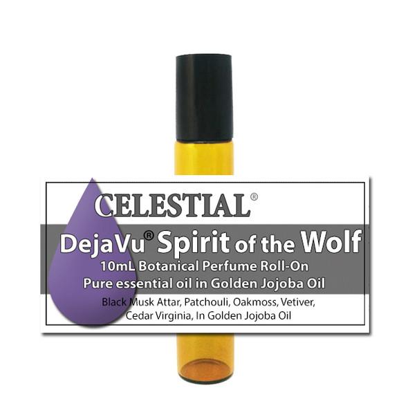 DejaVu® SPIRIT OF THE WOLF NATURAL BOTANICAL UNISEX PERFUME