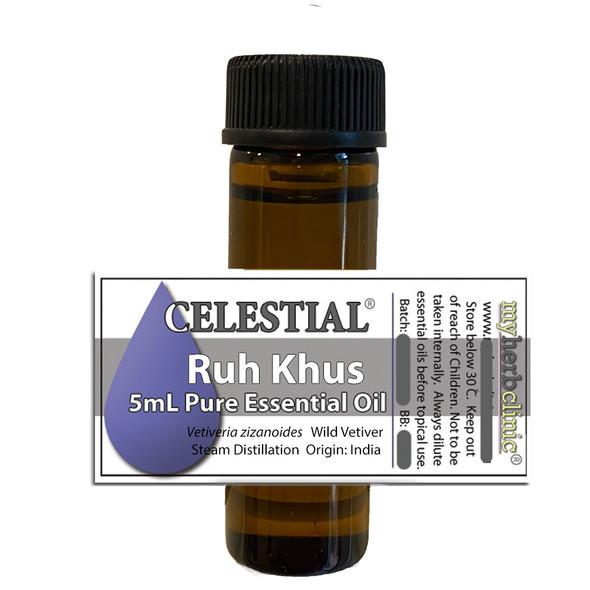 CELESTIAL® RUH KHUS - WILD VETIVER - Vetiveria zizanoides - EARTHY SMOKY WOODY
