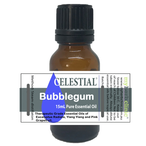 CELESTIAL | BUBBLE GUM THERAPEUTIC GRADE ESSENTIAL OIL BLEND NATUROPATHICALLY PREPARED ~ FUN