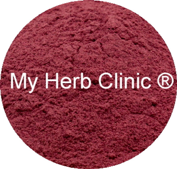 MY HERB CLINIC ® BEETROOT POWDER ~ ORGANIC ~ NATUROPATHICALLY PREPARED
