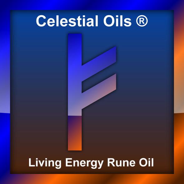 CELESTIAL | FEHU LIVING ENERGY RUNE OIL - GOOD FORTUNE & PROSPERITY
