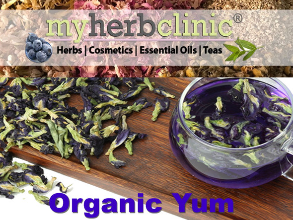 BLUE BUTTERFLY PEA FLOWER ORGANIC TEA HERB INFUSION - INFLAMMATION VITALITY