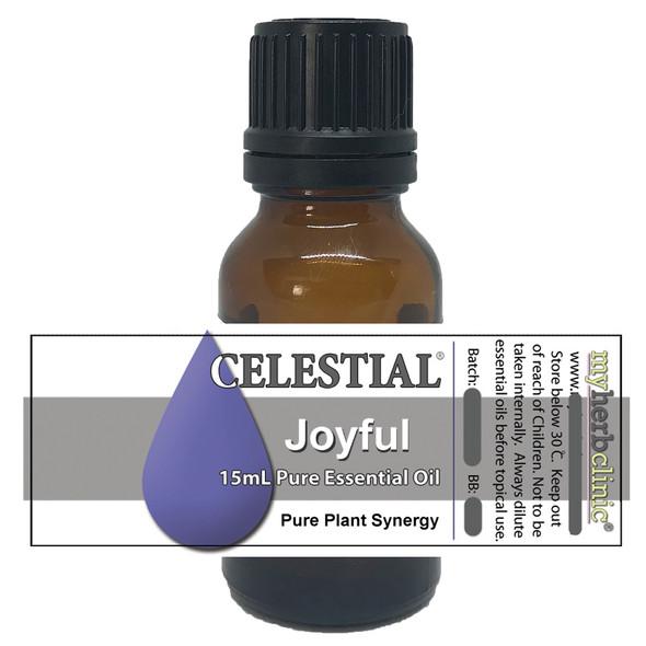 CELESTIAL ® JOYFUL THERAPEUTIC GRADE ESSENTIAL OIL BLEND - HAPPINESS ROMANCE JOY