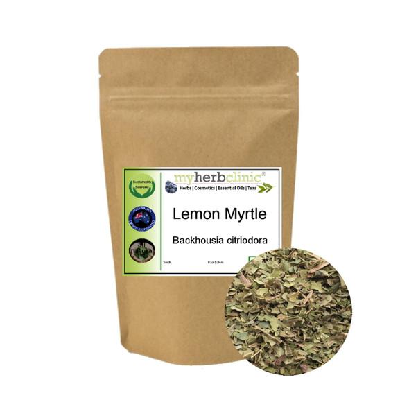MY HERB CLINIC ® LEMON MYRTLE HERBAL INFUSION TEA 1st GRADE - SUPER ANTIOXIDANT