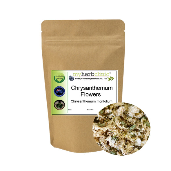 MY HERB CLINIC ® CHRYSANTHEMUM NATUROPATHICALLY PREPARED ~ HERBAL TEA