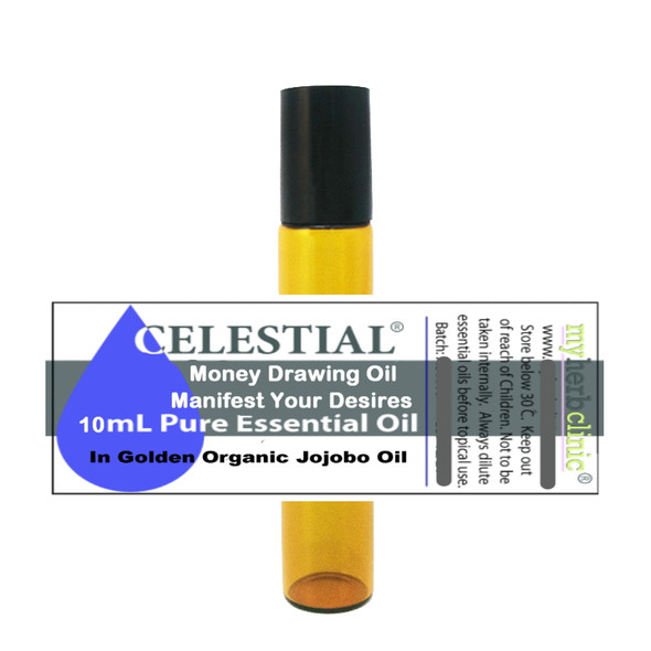 CELESTIAL ® MONEY DRAWING OIL - ATTRACT PROSPERITY ABUNDANCE WEALTH