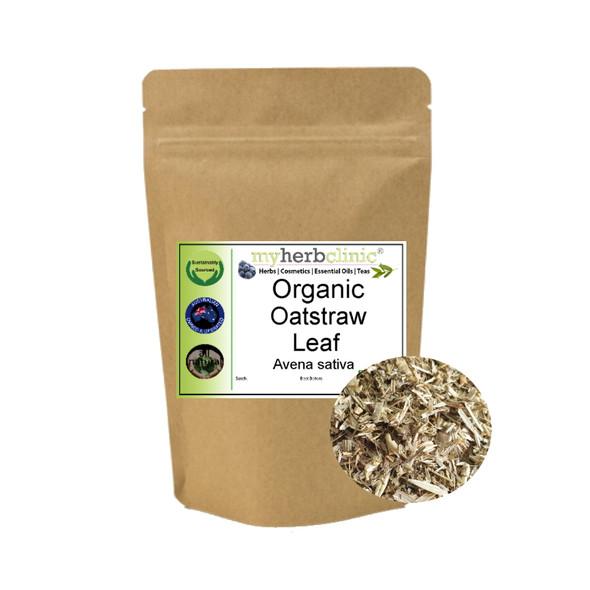 MY HERB CLINIC ® OATSTRAW ORGANIC HERBAL TEA - PREMIUM QUALITY