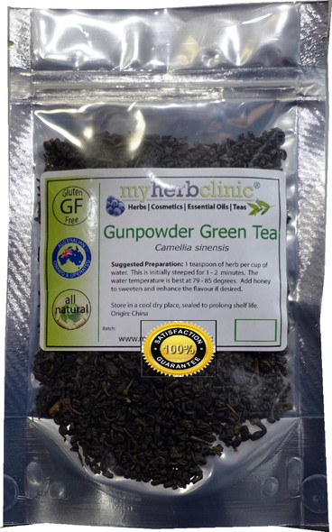 MY HERB CLINIC ® GUNPOWDER GREEN TEA ANTIOXIDANT POWERFUL RICH FLAVOUR