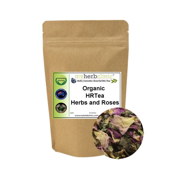 MY HERB CLINIC ® HRT HRTEA ORGANIC PRE MENSTRUAL MENOPAUSAL BALANCE HERBAL TEA