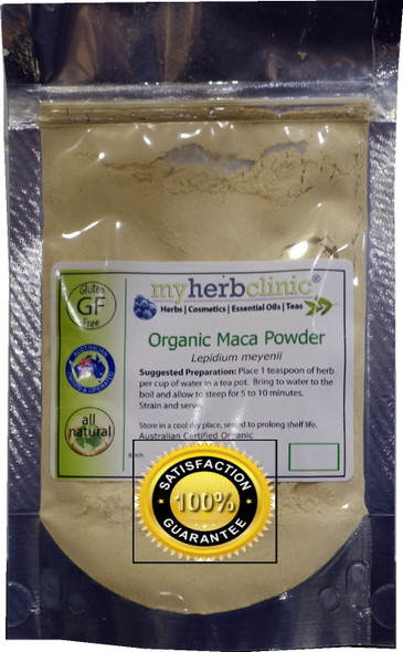 MY HERB CLINIC ® MACA ORGANIC POWDER ~ ENERGY ANABOLIC PROTEIN TRAIN