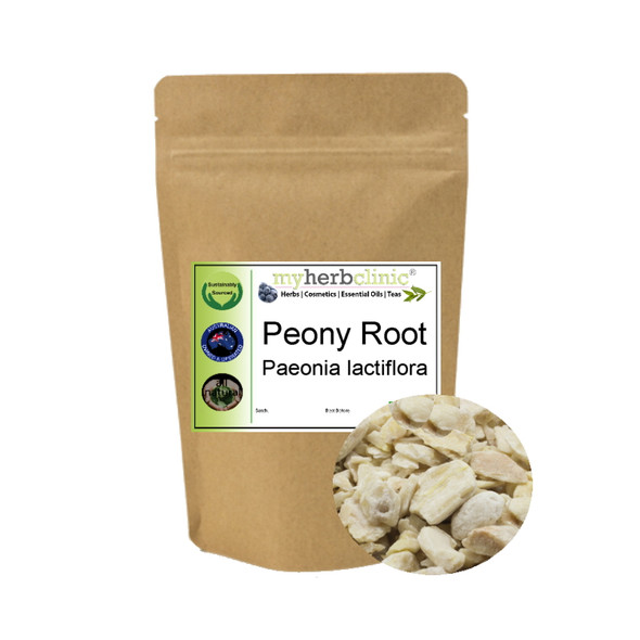MY HERB CLINIC ® PEONY ROOT - Paeonia lactiflora - INSOMNIA ANXIETY SLEEP