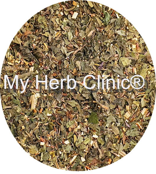 MY HERB CLINIC ® GREEN BLEND ROOIBOS ORGANIC PREMIUM TEA BLEND - HEALTHY - CAFFEINE FREE DELICIOUS