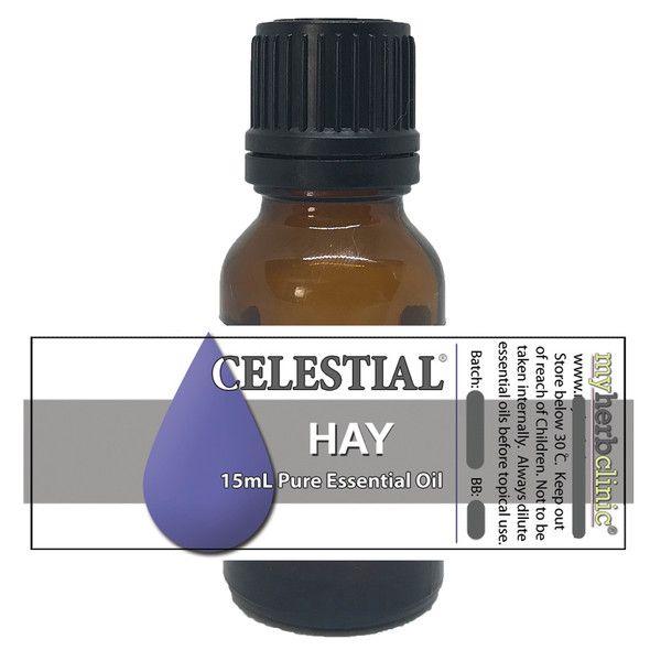 CELESTIAL ® HAY THERAPEUTIC GRADE ESSENTIAL OIL ABSOLUTE - TRANQUIL UPLIFTING