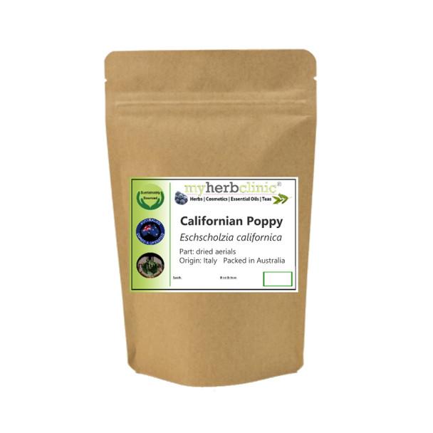 MY HERB CLINIC ® CALIFORNIAN POPPY HERBAL TEA - ITALY - Eschscholzia californica