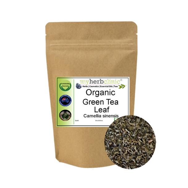 MY HERB CLINIC ®  GREEN TEA ORGANIC PURE - SPRAY FREE - PREMIUM QUALITY HEALTH