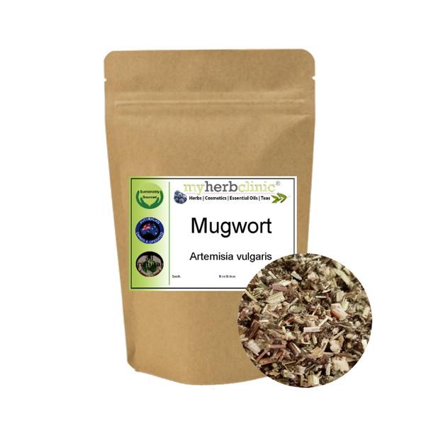 MY HERB CLINIC ® MUGWORT HERB, SMUDGE INCENSE - Artemisia Vulgaris 1ST GRADE PREMIUM