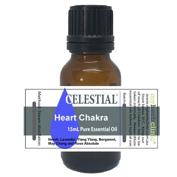 CELESTIAL ® HEART CHAKRA ESSENTIAL OIL - I LOVE - EMOTIONAL HEALING