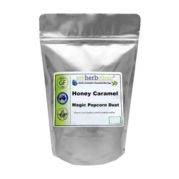 SALTED HONEY CARAMEL POPCORN DUST NATURAL FUSION 25g
