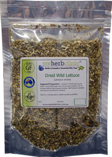 MY HERB CLINIC® WILD LETTUCE Lactuca virosa FRANCE - PREMIUM HERB