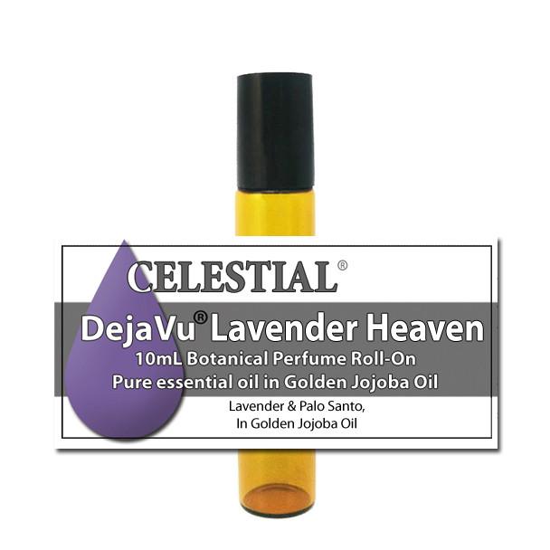 DejaVu® LAVENDER HEAVEN BOTANICAL PERFUME OIL ROLL ON - PALO SANTO
