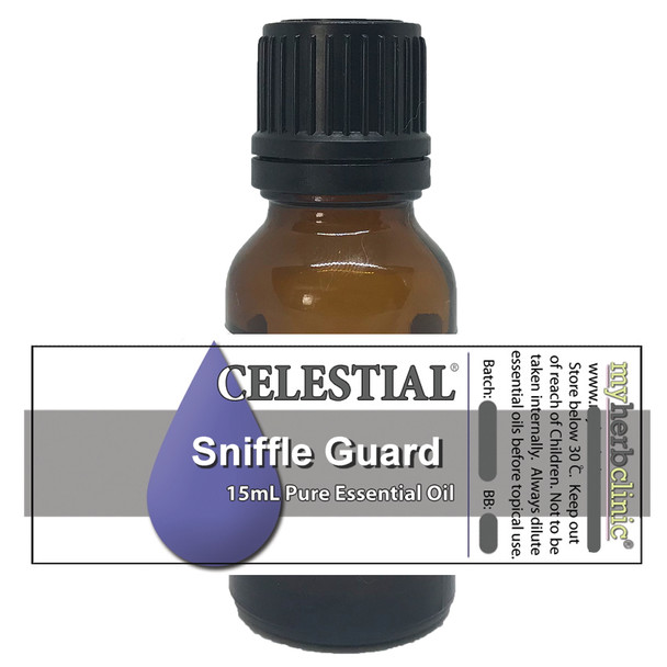 CELESTIAL ® SNIFFLE GUARD THERAPEUTIC GRADE ESSENTIAL OIL PURE PLANT SYNERGY