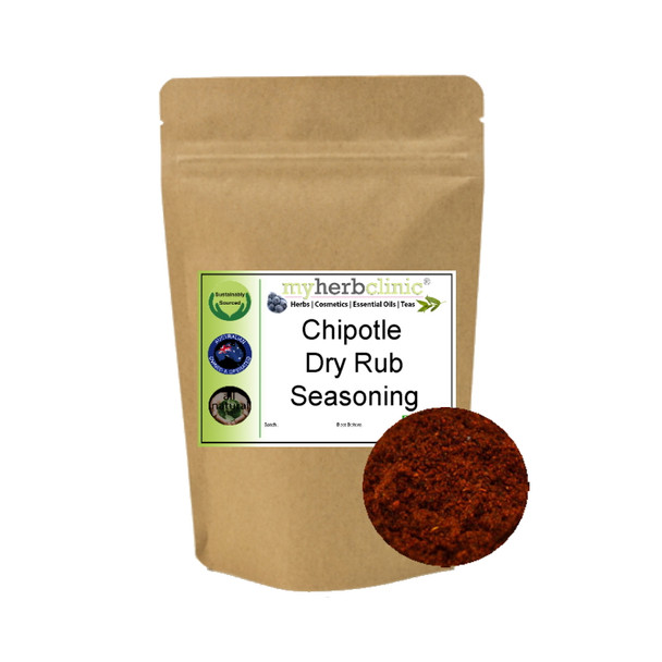 MY HERB CLINIC ® CHARMING CHIPOTLE SEASONING GOURMET BBQ POPCORN MEAT VEGES YUM
