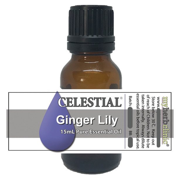 CELESTIAL ® Spiked Ginger Lily Essential oil - Hedychium Spicatum - Organic