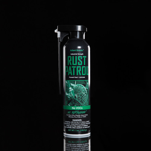 Rust Patrol Lubricating Oil 7 oz Aerosol Can
