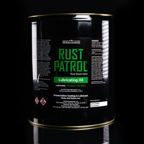 Rust Patrol Lubricating Oil 5 Gallon Pail