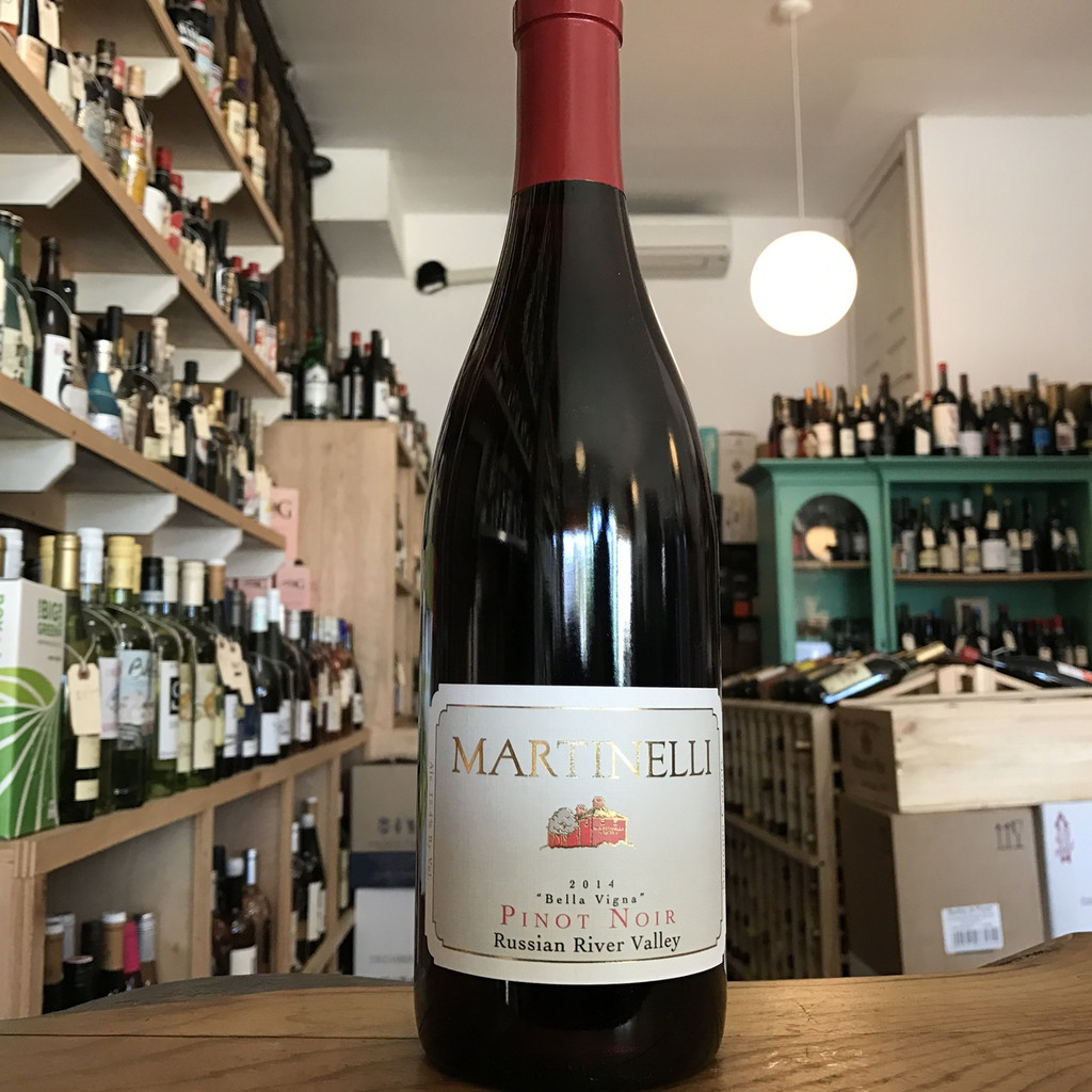 Martinelli Winery, Russian River Valley Pinot Noir Bella Vigna (2014)