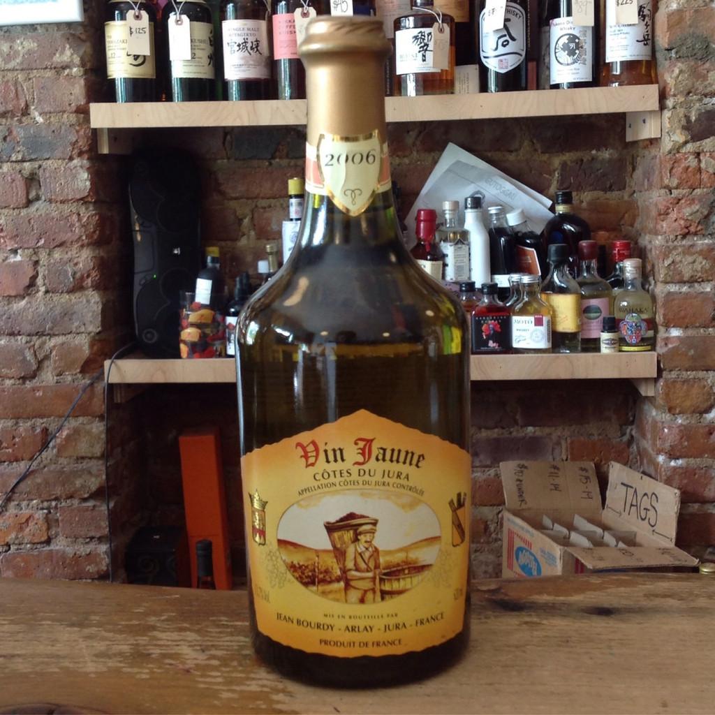 Caves Jean Bourdy, Bourdy Blanc Vin Jaune (2006)