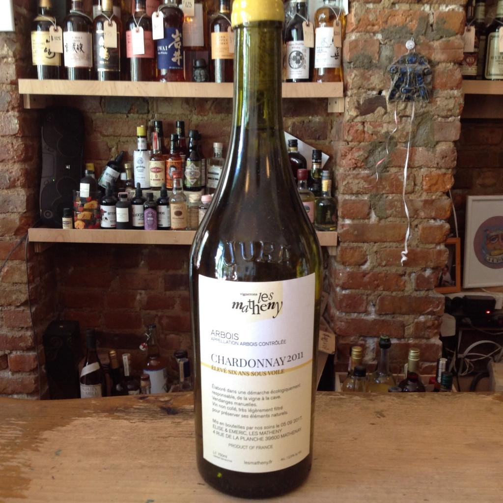 Les Matheny, 6 Ans Sous Voile Chardonnay (2011)