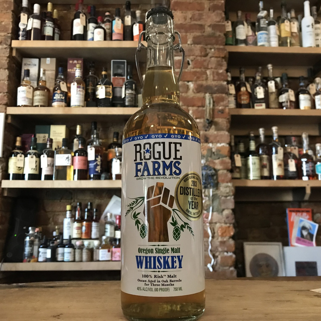 Rouge Farms Oregon Single Malt Whiskey