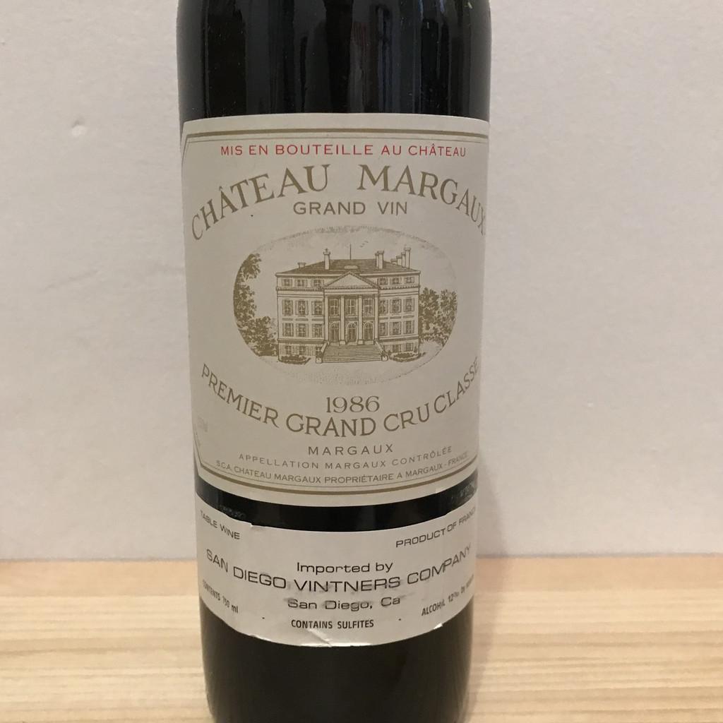 Chateau Margaux, 1986