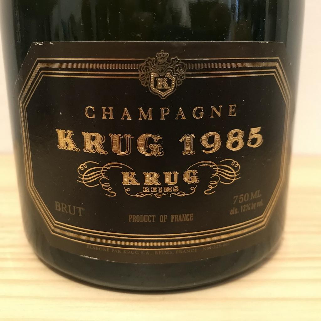 1985 Krug Brut – 750 mL