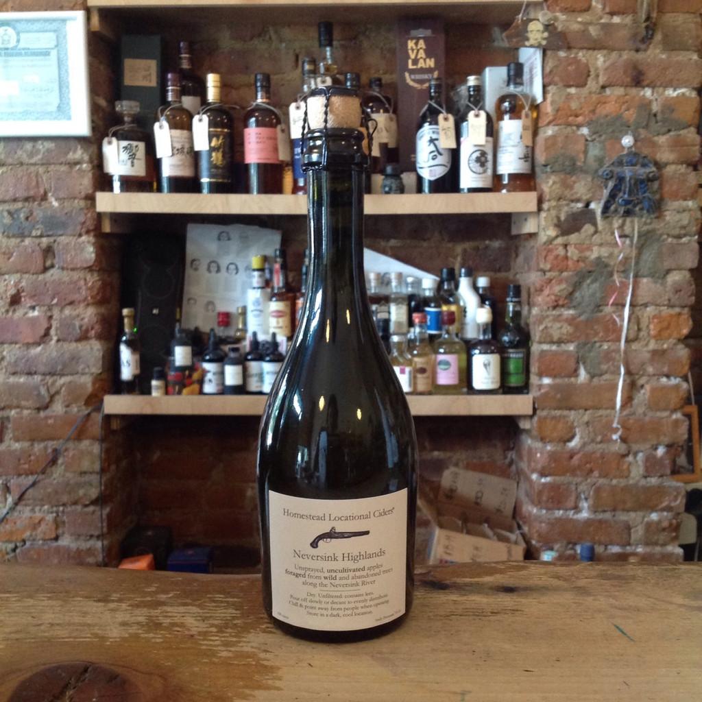 Aaron Burr Neversink Highlands Homestead Cider (500ml)