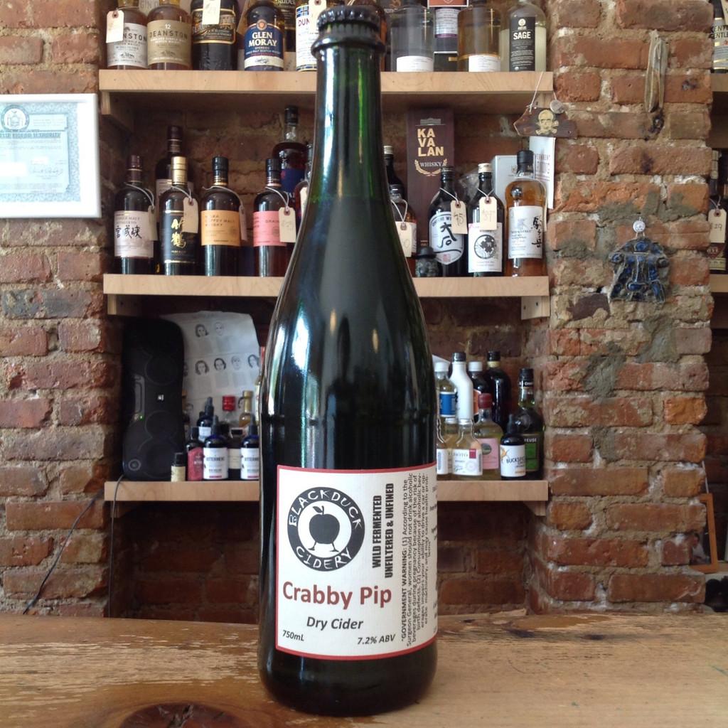 Blackduck Cidery, Crabby Pip Cider (2017)