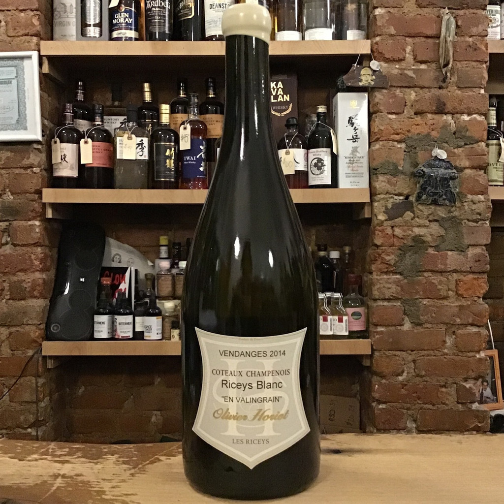 Olivier Horiot, Coteaux Champenois Blanc Riceys (2014)
