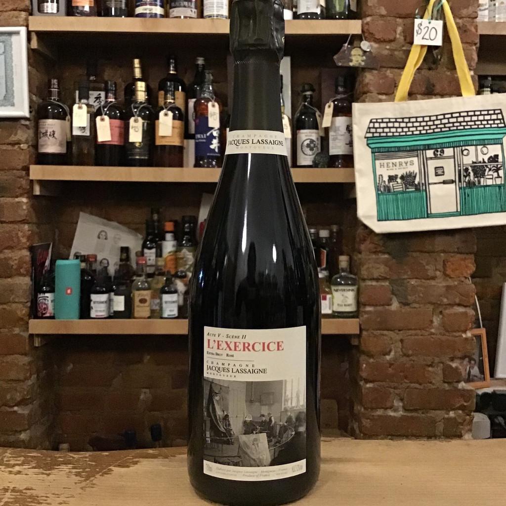 Jacques Lassaigne, Champagne Extra Brut Rosé L'Exercice (NV)