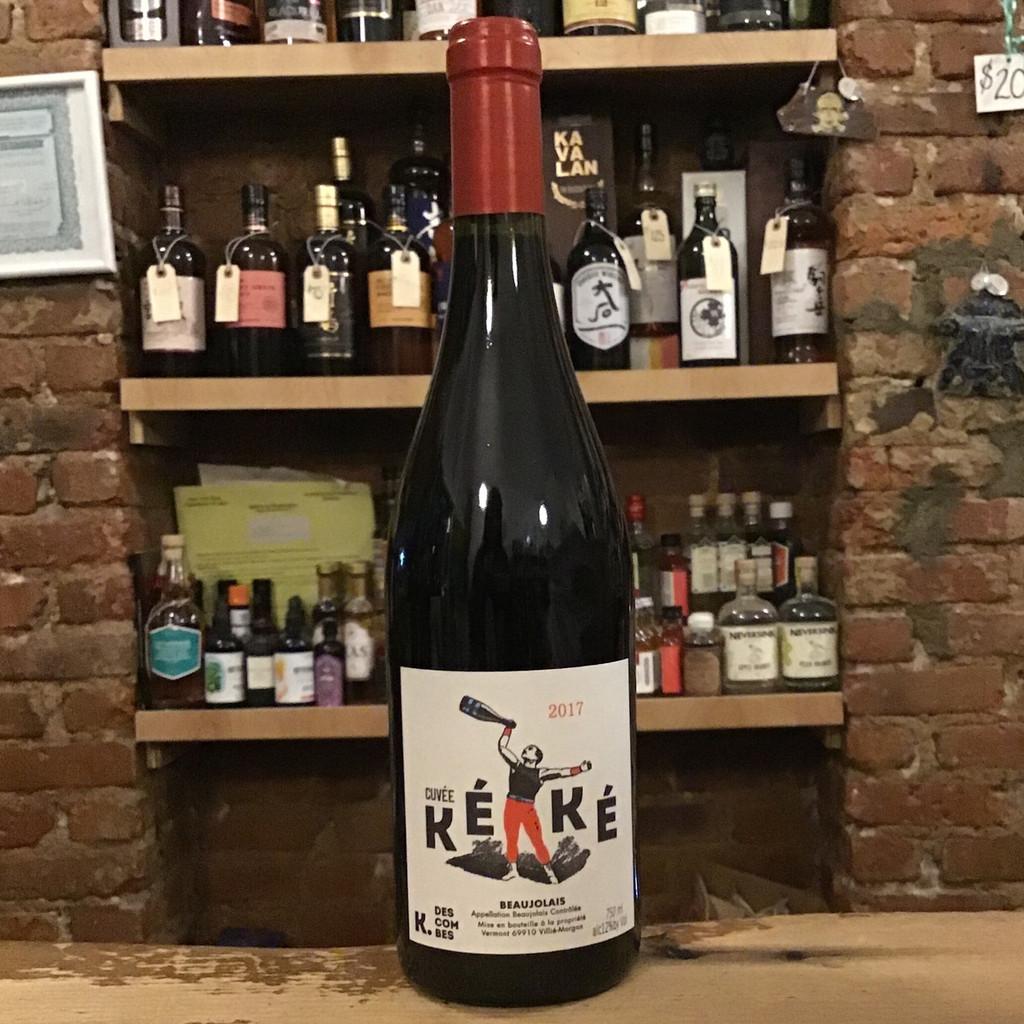 Kevin Descombes, Cuvee Keke Beaujolais (2017)