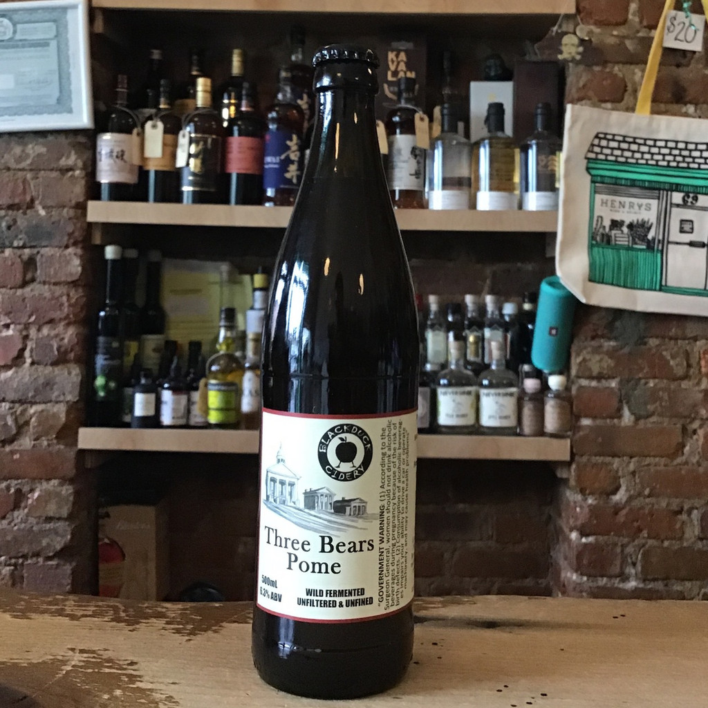 Blackduck Cidery, Three Bears Pome 500ml (2018)
