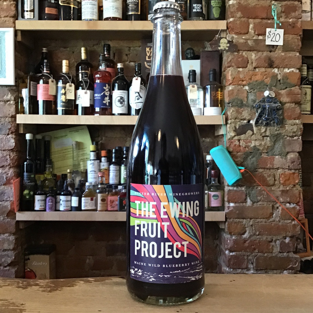 Oyster River, Ewing Project Blueberry Wine (2018)