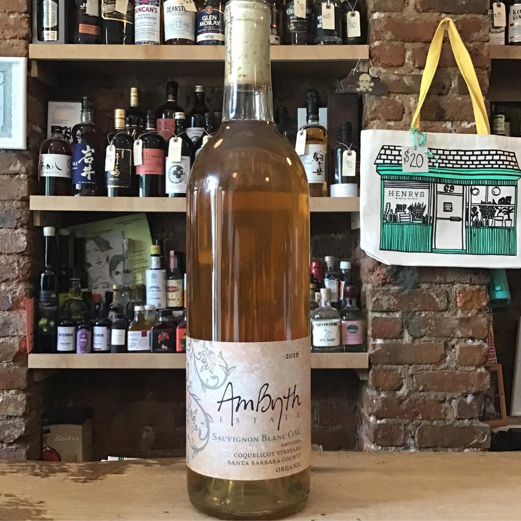 AmByth Estate, Sauvignon Blanc O.W Coquelicot Vineyard Santa Barbara County (2016)