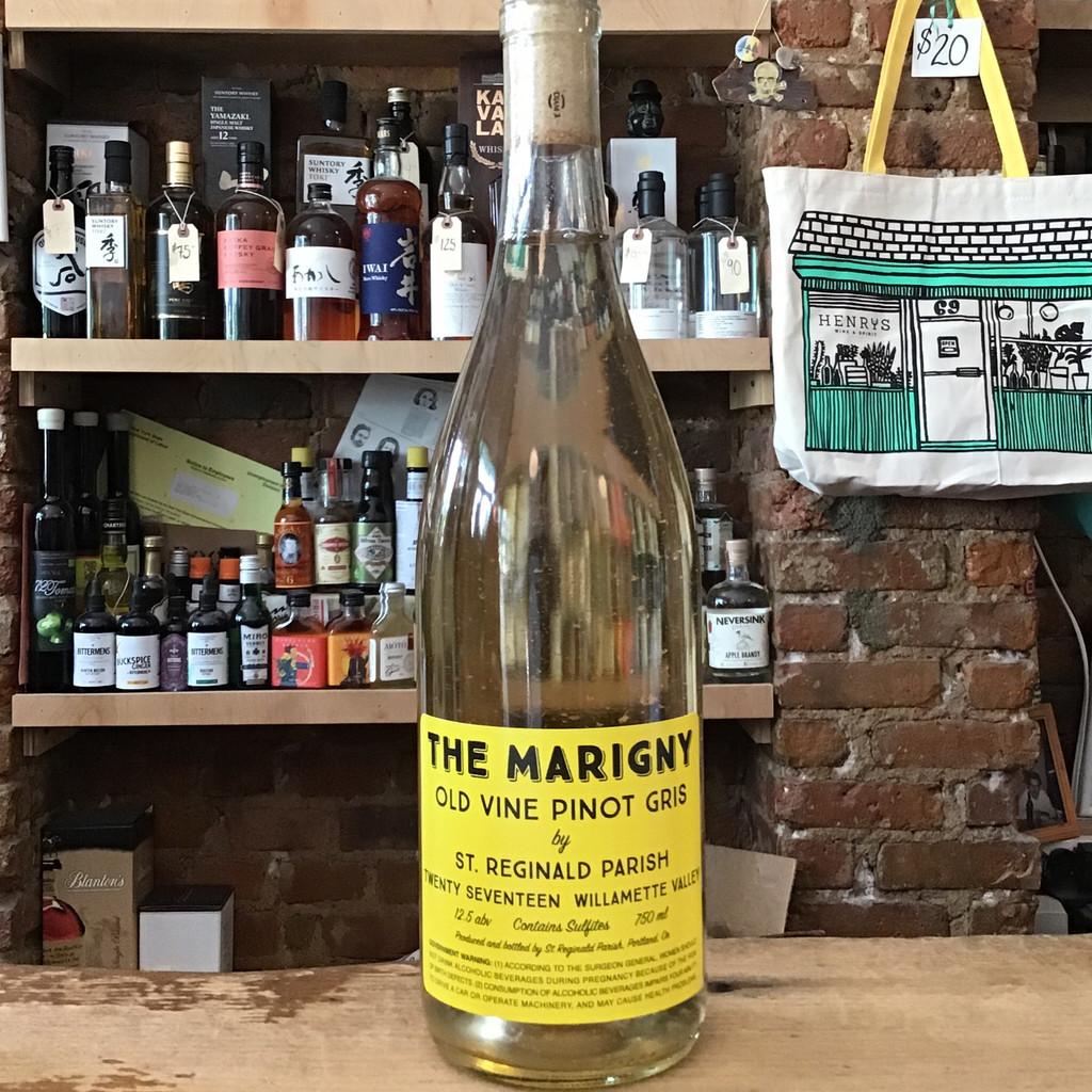 St. Reginald Parish, The Marigny Old Vine Pinot Gris (2017)